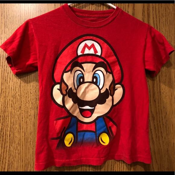 T Shirt Go Green Super Mario Men/'s // Unisex Size/'s S /& XS